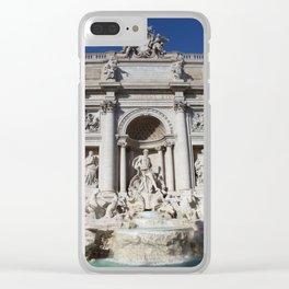 Fontana di Trevi Rome Italy Clear iPhone Case