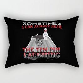 Funny Bowling Ten Pin Design Rectangular Pillow