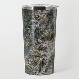 Tree Trunk with short thick Branch Stumps Travel Mug