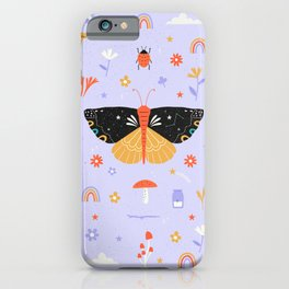 Magic butterfly Pattern iPhone Case
