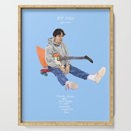 Boy Pablo- Soy Pablo - Album Cover Tracklist Poster Print Wall Art, Custom Poster Serving Tray