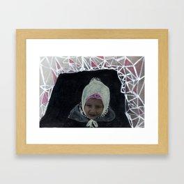 Triangle Snow Fort Adventures - Katrina Niswander Framed Art Print