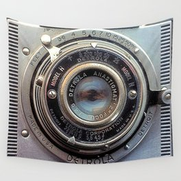 Detrola (Vintage Camera) Wall Tapestry