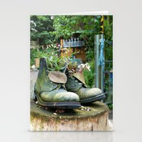 denmark Stationery Cards featuring Boot Vase, Denmark, 2004 by Palm-Prints