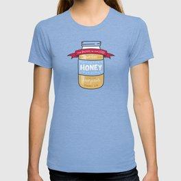 """Sweeter Than Honey"" Bible Verse Print T-shirt"