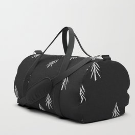 nordic fir trees Duffle Bag