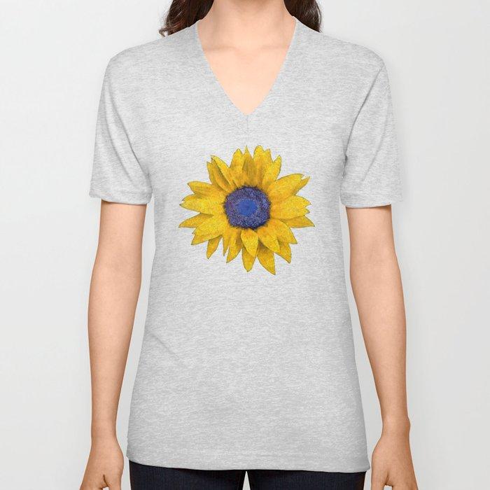 Sunflower Unisex V-Ausschnitt