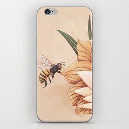 Full bloom   Busy bee iPhone Skin