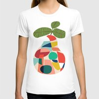 pear T-shirts featuring Fresh Pear by Picomodi