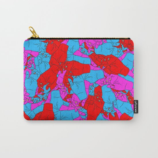 Bed of Hands Carry-All Pouch