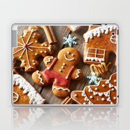 Gingerbread Cookies Laptop & iPad Skin