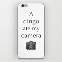 A Dingo Ate My Camera iPhone & iPod Skin