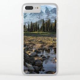 Mazama Ridge Trail Clear iPhone Case