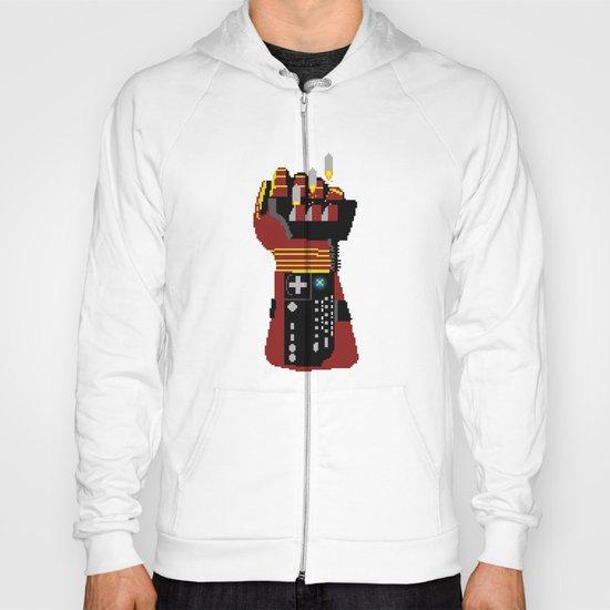 Power Glove Love: Iron Man Hoody