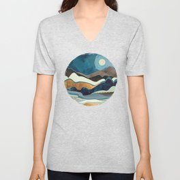 Autumn Hills Unisex V-Neck