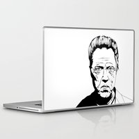 christopher walken Laptop & iPad Skins featuring Christopher Walken by Sheena White for Winsome Gallery