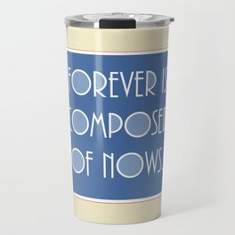 Emily Dickinson quote. Travel Mug