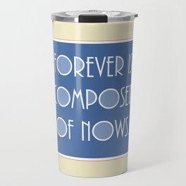 Emily Dickinson quote. Travel Mug