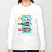 fish Long Sleeve T-shirts featuring Fish by Danny Ivan