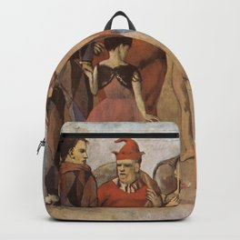 Pablo Picasso - Family of Saltimbanques Backpack