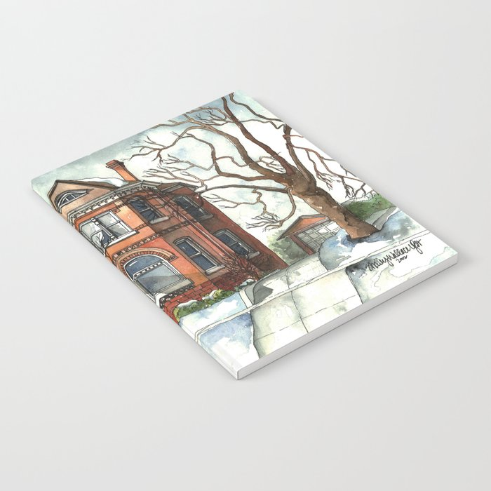 Victorian House in The Avenues Notebook