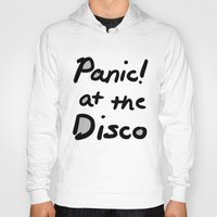 panic at the disco Hoodies featuring Panic! At The Disco by Stephanie Janeczek