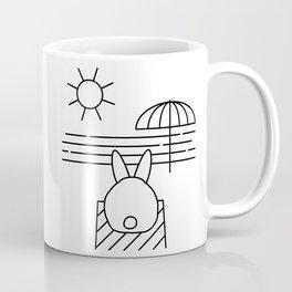 Beach Bun Bum Coffee Mug
