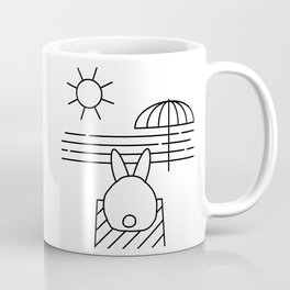 Beach Bun Bum Coffee Mug