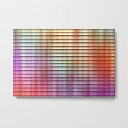 Colored Shade Metal Print