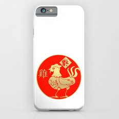 Year of the Rooster Gold and Red Slim Case iPhone 6s