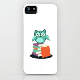 Introvert Books Readers Bookworms Reading Introversion Literature Gift iPhone Case