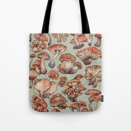 A Series of Mushrooms Tote Bag