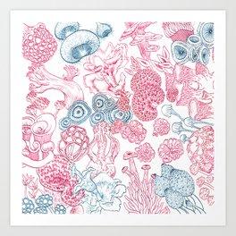 Mycology 2 Art Print