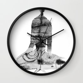 Silent Witness Wall Clock