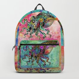 Cuttlefish Patchwork Backpack
