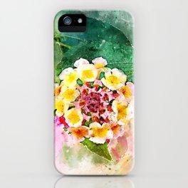 Lantana iPhone Case