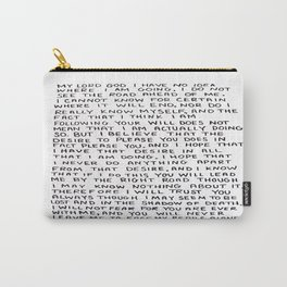 Direction Prayer  Carry-All Pouch