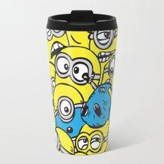 Crowded Minion Travel Mug