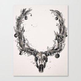 Anti-Christmas Canvas Print