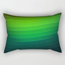50 Shades of Abstract green Rectangular Pillow