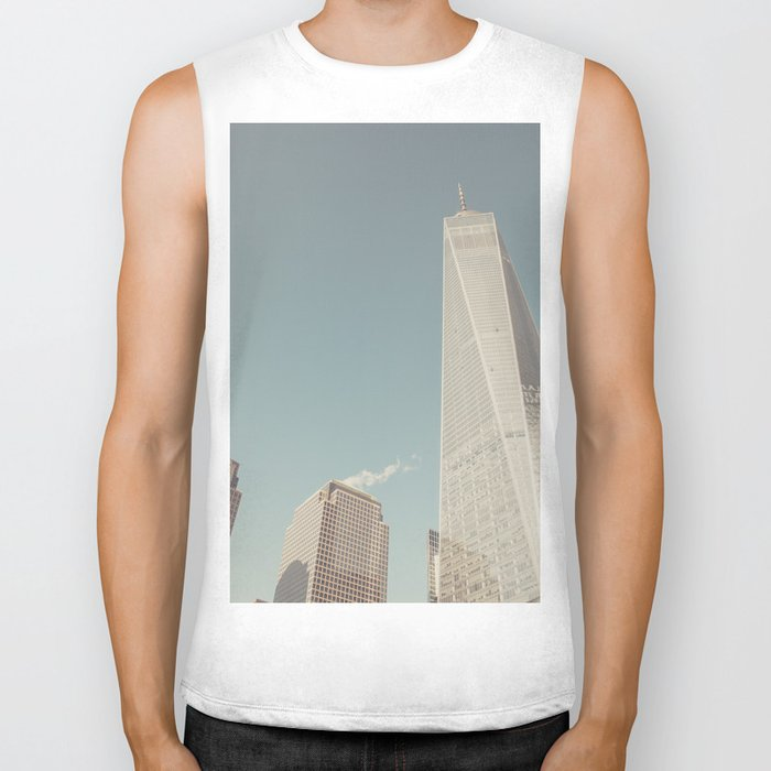 World Sky - New York City Biker Tank