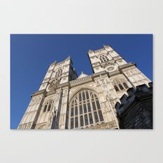Westminster Abbey, London (2012) Canvas Print