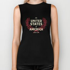 The United States of America Biker Tank