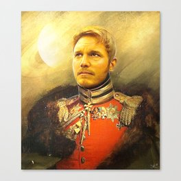 Starlord Guardians Of The Galaxy General Portrait Painting | Fan Art Canvas Print