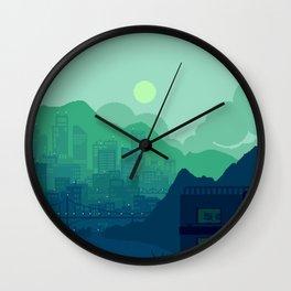 City Overlook Wall Clock