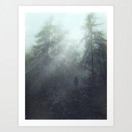 enter the wilderness Art Print