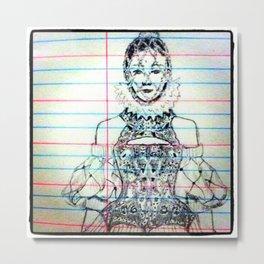 Alexandra muqueen Metal Print