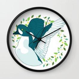 Barrow's Goldeneye Wall Clock