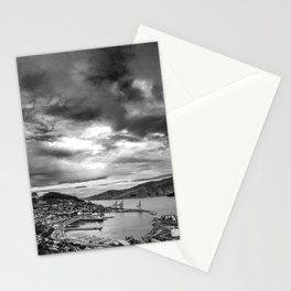 Lyttelton Harbour Skies Stationery Cards