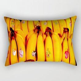 The Art of the Bananas Rectangular Pillow